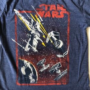 Star Wars Double-sleeved boys t-shirt XS